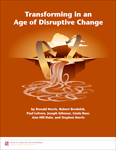 Cover (Transforming in an Age of Disruptive Change)