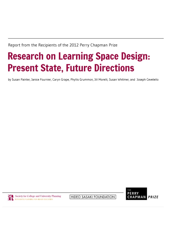 Cover (Research on Learning Space Design)