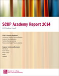 Cover (The SCUP Academy Report 2014)