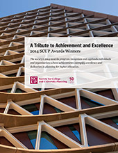 2014 SCUP Excellence Awards Report Cover