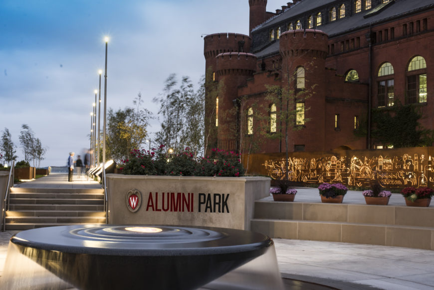 University of Wisconsin - Madison - Alumni Park: Connecting Campus, Community and Legacy