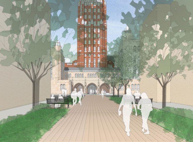 Yale University image - Courtesy of Ann Beha Architects