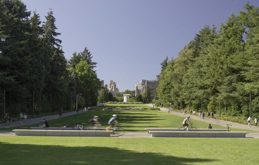 University of Washington - Lower Rainier Vista & Pedestrian Land Bridge