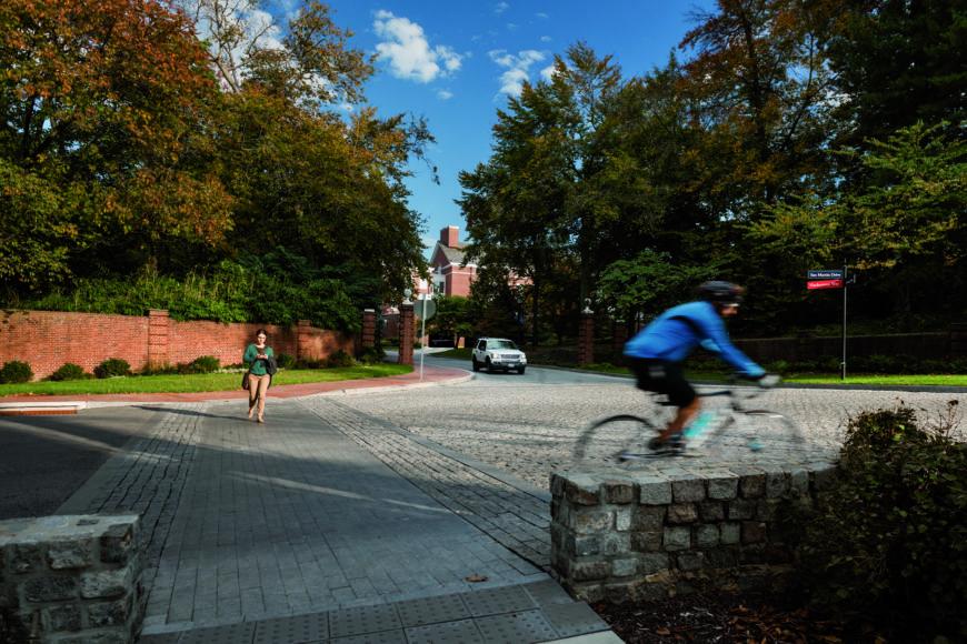 Johns Hopkins University - San Martin Drive Pedestrian Improvements