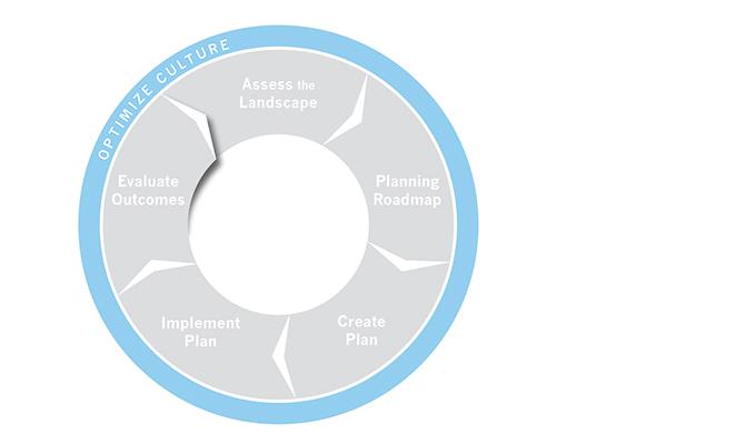 Planning Institute Sustain Process Graphic