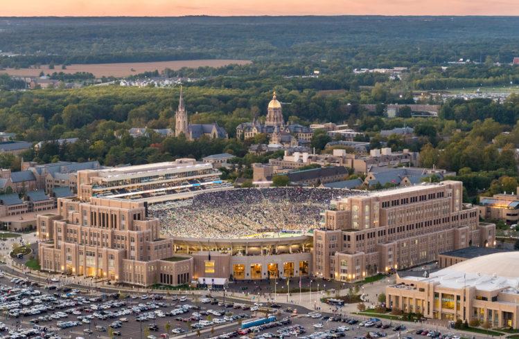 University of Notre Dame image - Courtesy Matt Cashore