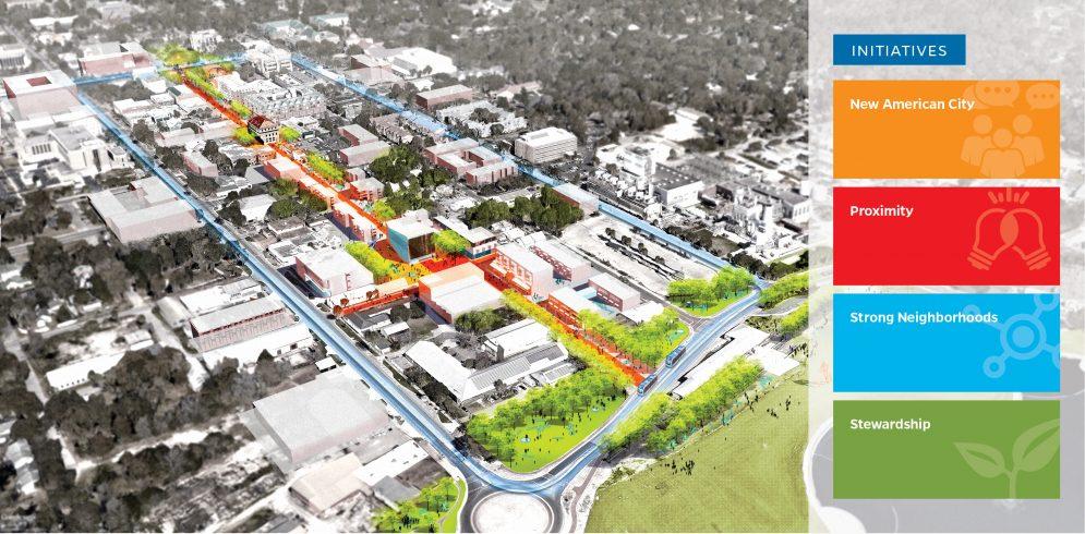 The University of Florida image -