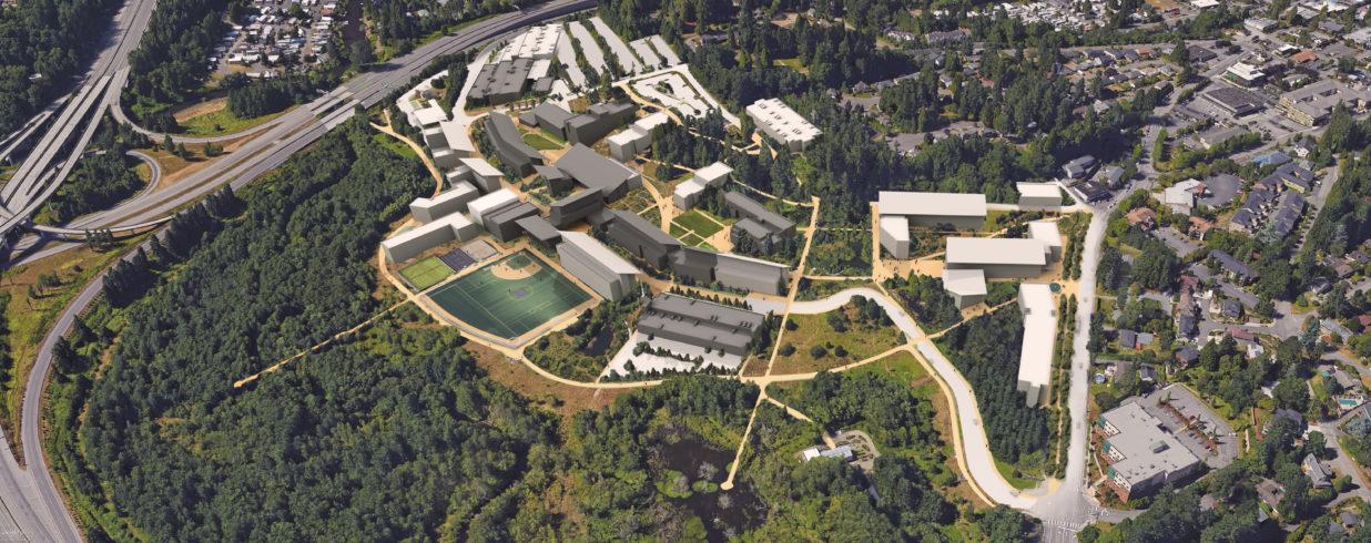 University of Washington Bothell   Cascadia College image - Mahlum Architects