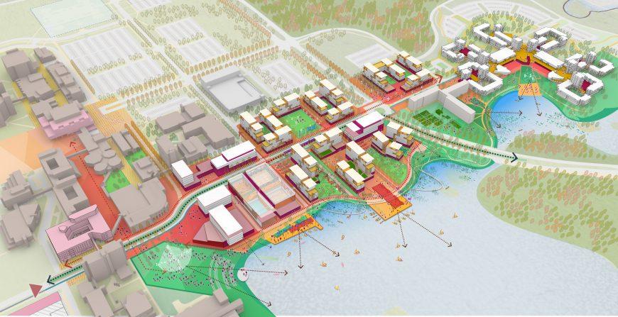 University at Buffalo - University at Buffalo, Housing Master Plan (North Campus)