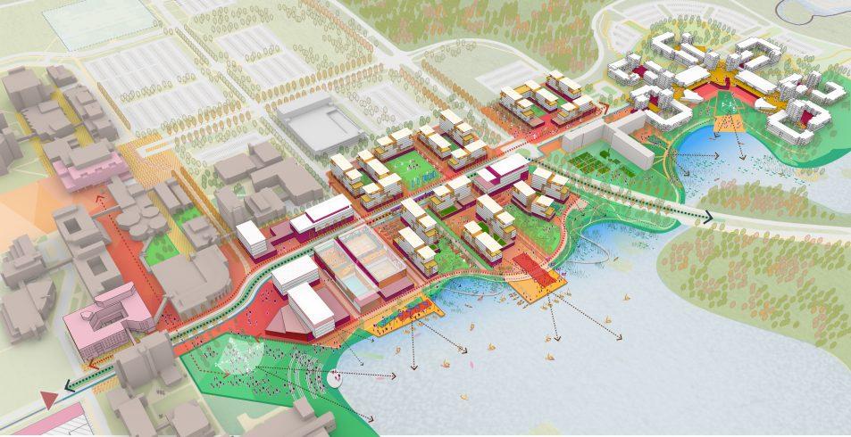 University at Buffalo image - Image Courtesy of Sasaki