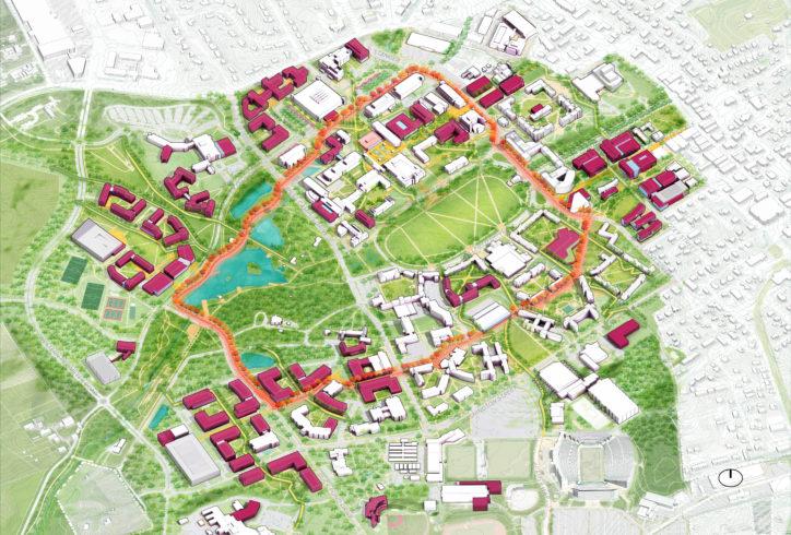 Virginia Tech image - Renderings by Design Distill