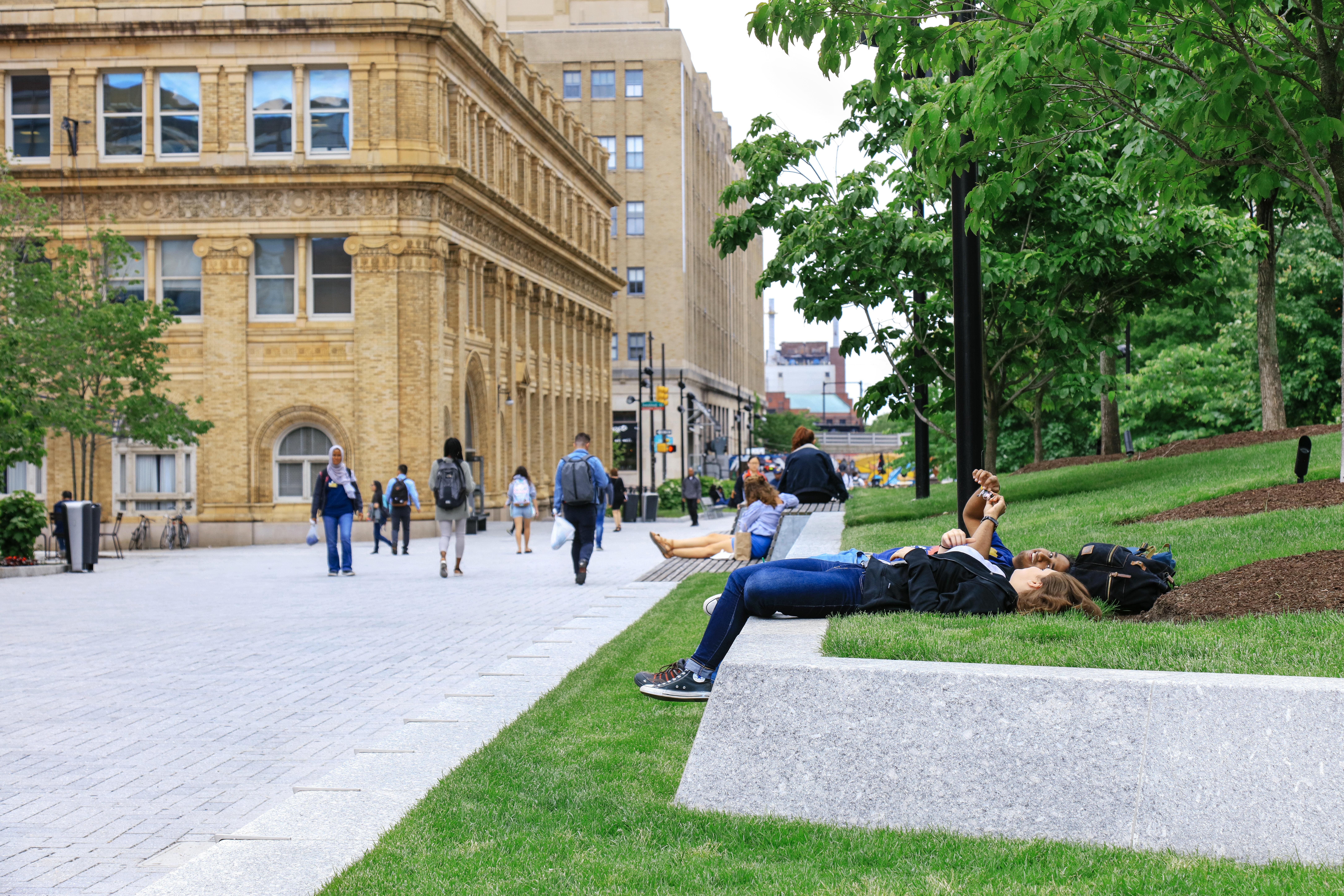 Drexel University - Campus Core (Korman Quadrangle and Perelman Plaza)