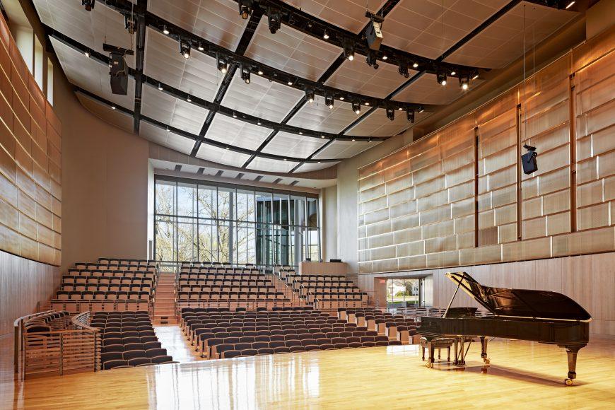 Eastern Connecticut State University - Fine Arts Instructional Center