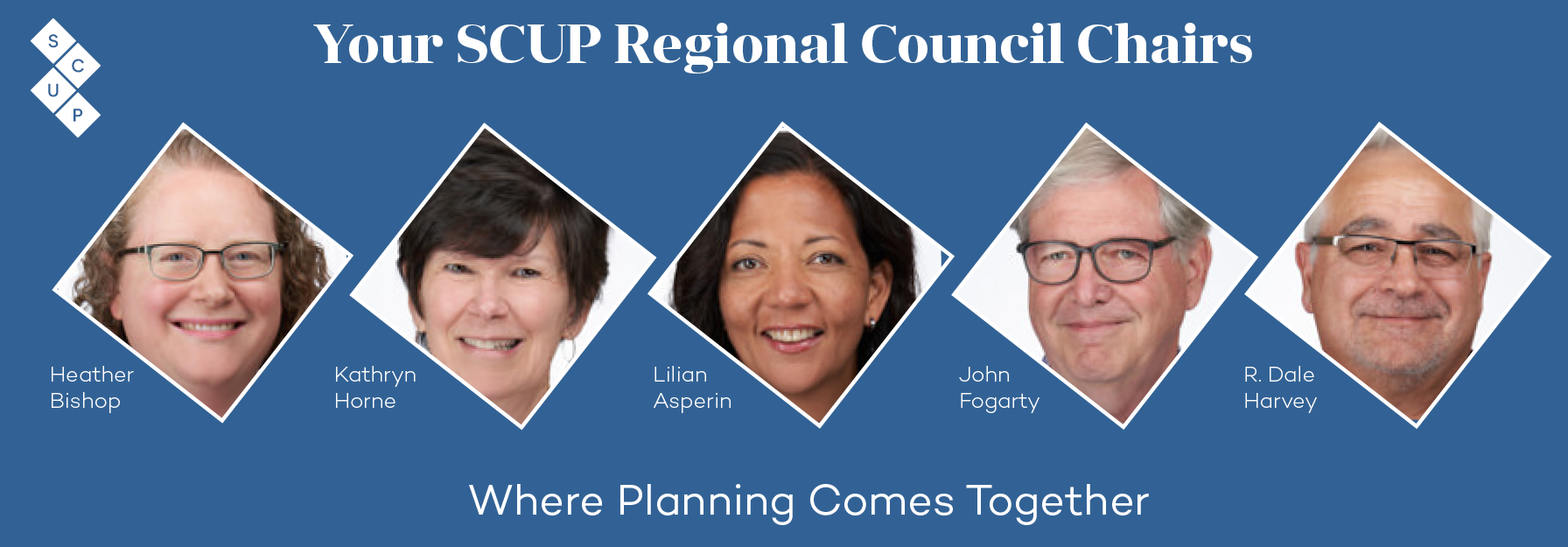 SCUP Regional Council Chairs 2019