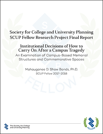 Cover (Institutional Decisions of How to Carry On After a Campus Tragedy)