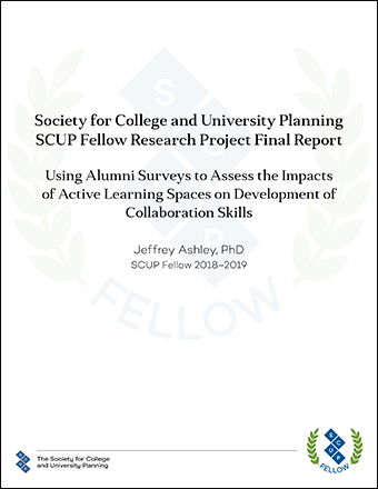 Cover (Using Alumni Surveys to Assess the Impacts of Active Learning Spaces on Development of Collaboration Skills)