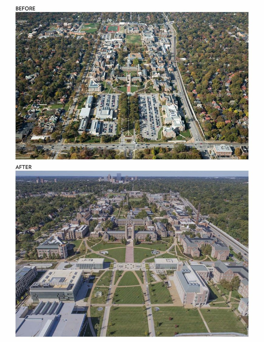 Washington University in St. Louis - East End Transformation of the Danforth Campus