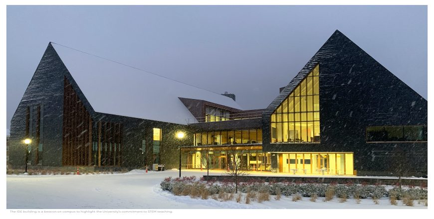 Southern New Hampshire University (SNHU) - Innovation and Design Education building (IDE)