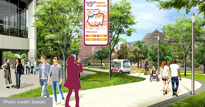 Virginia Polytechnic Institute and State University - Virginia Tech Infinite Loop and Green Links