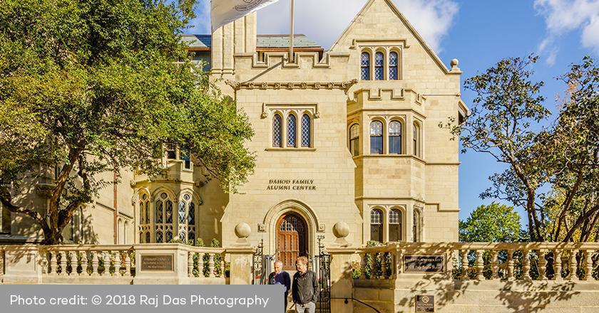 Boston University - Dahod Family Alumni Center at the Castle