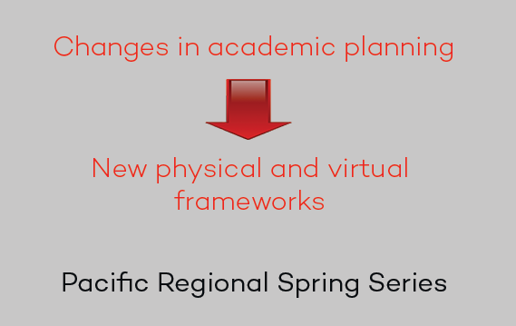 SCUP Pacific Regional Spring Series - Academic planning effects physical and virtual spaces ... learn how